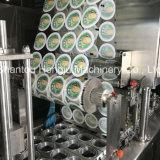 Завалка чашки и машина запечатывания для воды