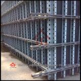Sistema de apoyo del encofrado para la construcción concreta de la columna