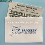Denrum zahnmedizinischer orthodontischer Monoblock Standard markiert Edgewise FDA Cer ISO