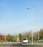 Poteau d'éclairage de rue galvanisé extérieur personnalisé et personnalisé