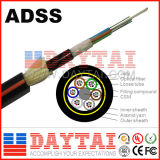 Cabo da fibra óptica do núcleo ADSS da grande distância 2-36 de Daytai