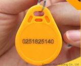 Neue intelligente Identifikation DER ABS-Tk4100/Em4200 125kHz bricht RFID SchlüsselFob ab