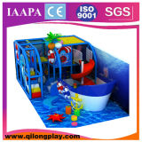Petite cour de jeu d'intérieur molle de bateau de pirate (QL-17-5)