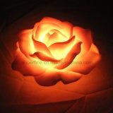 Het valse Decoratieve Romantische Waterdichte LEIDENE Licht Zonder vlammen van de Bloem voor Partij