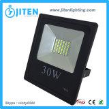 Alta calidad ligera de la cubierta de Alumilum de la luz de inundación del LED 30W LED