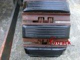 250 almofadas da máquina escavadora ou almofadas de borracha