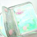 Mini sac à dos semi-transparent d'Irridescent de filles