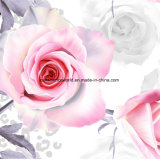 a pantera branca Pigment&Disperse de 100%Polyester Rosa imprimiu a tela para o jogo do fundamento