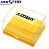 Azdent Bursを置くための新しいプラスチックAutoclavable歯科Burボックス