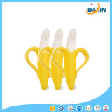 Criativo Newborn Toy Banana Shaped Food Grade Silicone Baby Teether