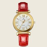 Wristwatch 71096 кварца полосы кожи повелительницы вахты способа сетноой-аналогов