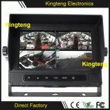 7inch Vierradantriebwagen 4CH imprägniern Bildschirm-Monitor Kt-620 des Auto-TFT LCD