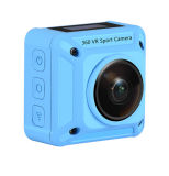 WiFi 4k una macchina fotografica subacquea di 360 Digitahi di grado con l'obiettivo doppio