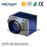Explorador de alta velocidad del galvanómetro del laser Js2205 para la máquina de la marca de la fibra