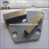 CD-25金属の結束の具体的な床のエポキシのコーティングの粉砕の磨く機械ダイヤモンド