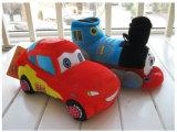 관례에 의하여 채워지는 차 견면 벨벳 장난감 버스 견면 벨벳 장난감