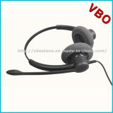 Binaural Noise Canceling Call Center USB Headset avec Qd