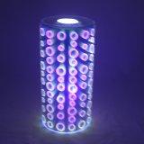 Romantische Mooie Multifunctionele LEIDEN van het Glas van Deco van Kerstmis van de Batterij Elektronische In het groot 3D Licht