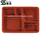 5 conteneur de nourriture matériel du compartiment pp avec le couvercle (999ml)