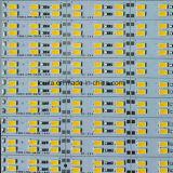 Iluminación de tira rígida doble de la barra de la fila 5630 LED