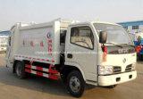5t vuilnisauto 5 Cbm de Vrachtwagen van het Vuilnis voor Verkoop
