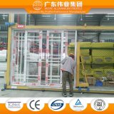 Puerta de plegamiento de cristal de aluminio de la venta caliente de la Estupendo-Casa con 24 años de garantía