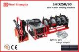 Сварочный аппарат Shd250/90 сплавливания приклада HDPE трубопровода воды гидровлический