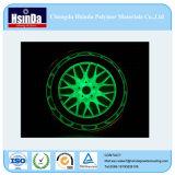 Автоматическое светящее зарево в темном покрытии порошка для эпицентра деятельности колеса