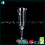 Freier/transparenter Farben-Plastik-PS-Wegwerfpartei-Champagne-Glas