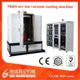 Cczk 3m 6m Edelstahl-Rohr-Zinn-Goldtitannitrid-Lichtbogen-Ionenvakuumbeschichtung-Maschine, PVD Beschichtungsanlage