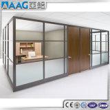 알루미늄 벽 분할 또는 알루미늄 스크린 분할 또는 물자에 의하여 사용되는 건축 칸막이벽