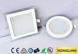 Lumière carrée de panneau de plafond de RoHS SAA 18W SMD DEL de la CE