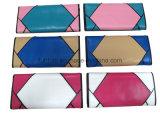 Het Effect van het lapwerk/het Ontwerp van de Manier Dame Wallet/de Kleur van het Contrast