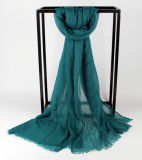 Varia bufanda pura de Bestsell de la viscosa del color el 100% con precio barato