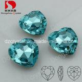 De Toebehoren van de Juwelen van het Hart van het kristal richten de Achter Losse Tegenhanger van de Steen