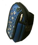調節可能なバンドとの最新のデザインネオプレンの携帯電話袋の腕章様式