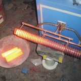 machine supersonique de chauffage par induction de la fréquence 40kw pour le recuit de barre en acier