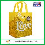 Bolso de compras, hecho del material tejido de los PP, fuerte y durable, con almacenaje