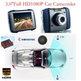 Hot 3.0inch Zinc Alloy Car Black Box dans Dash Car DVR avec Novatek96650 Chipset, 5.0mega Ar0330 CMOS Car Camera, Détection de mouvement, Mobile DVR 3009