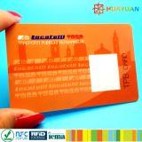 URL che mette i biglietti da visita in codice senza contatto della plastica Ntag215 NFC