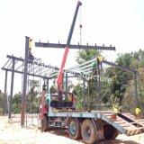 Construction de structure de bâti en acier de forme de Specail avec différentes envergures