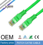 Кабель шнура заплаты меди 7*0.2mm 24AWG Cat5 UTP Sipu