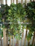 Plantas artificiales realistas Foliage colgar de la pared de la decoración
