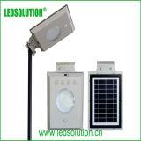Luz de calle integrada solar al aire libre de China 5W