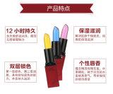 Echter transparenter Gelee-Kristalllippenstift-befeuchtender Lippenstift der Entfärbungs-Xixi