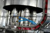 Rinicage de la machine d'embouteillage recouvrante remplissante de l'eau de l'élément 3 in-1