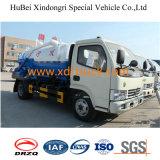 4.0cbm 하수 오물 흡입 트럭 산업 사용법