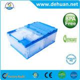 Rectángulos plásticos respetuosos del medio ambiente con la tapa para el almacenaje