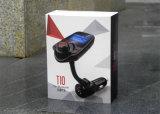 Lecteur MP3 de voiture Lecteur Bluetooth Transmetteur FM Kit Car Kit Écran LCD mains libres USB TF Chargeur voiture pour iPhone Samsung Car-Styling