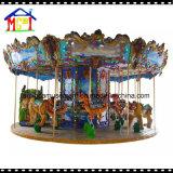 Carrousel de forêt de 12 portées pour le parc d'attractions